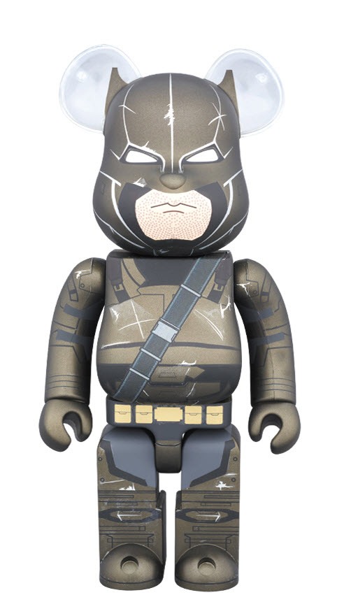 Bearbrick Armored Batman (400%)