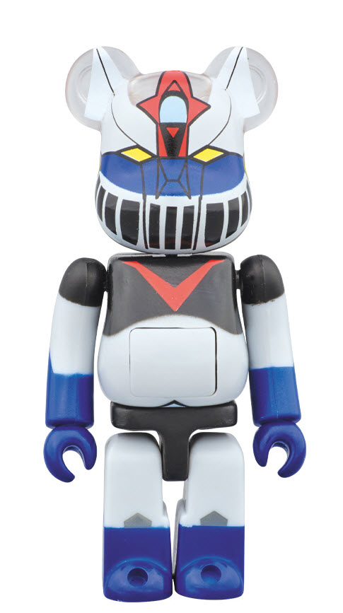 Bearbrick Kattobi [Great Mazinger] (100%)