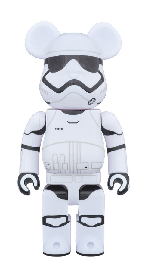 Bearbrick First Order Stormtrooper (400%)