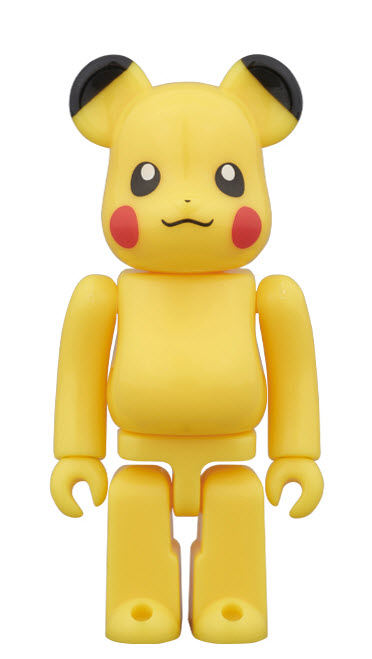 Bearbrick Pikachu [Pokémon Center Skytree Town Ver.] (100%)