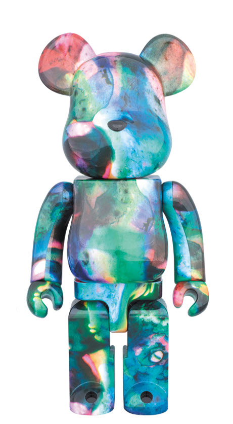 Bearbrick Pushead [Blue Water] (400%)