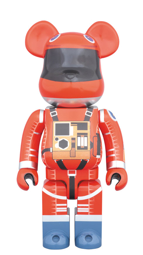 Bearbrick 2001: A Space Odyssey [Orange Space Suit] (400%)